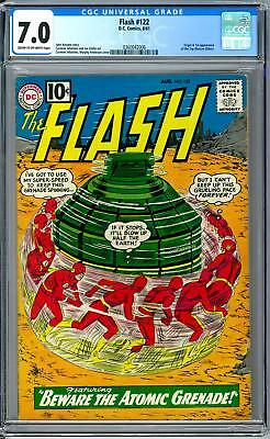 Flash #122 CGC 7.0 (OW) Origin & 1st Appearance of the Top