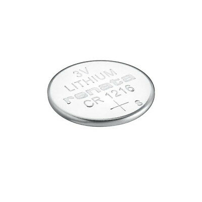 Renata CR1216 Swiss Made 3V Lithium Coin Cell Battery UK Seller Nextday Dispatch