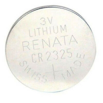 Renata CR2325 Swiss Made 3V Lithium Coin Cell Battery UK Seller Nextday Dispatch