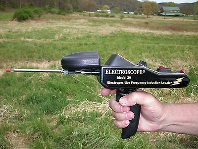 Electroscope Model 20 Long Range Gold/silver Locator Metal Detector Made In Usa