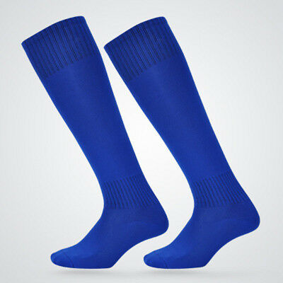Mens Womens Long Socks Guards Soccer Over Knee Stockings Breathable Athletic