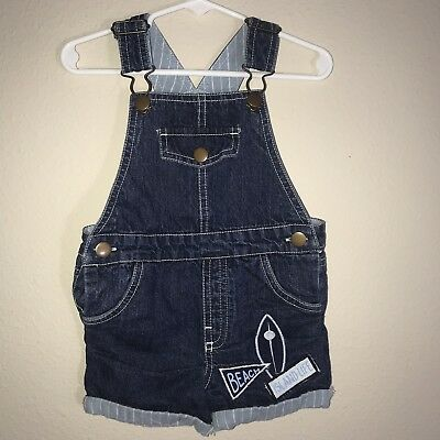 ef711092e Baby Boys RORIE WHELAN Beach Island Life Overalls Rompers Size 18 Months