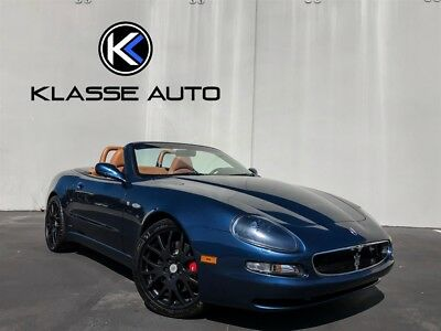 2003 Spyder Cambiocorsa 2003 Maserati Spyder Cambiocorsa F1 1 Owner Ca Car Only 11K Miles Must See Wow