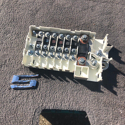 98 bmw e39 528i rear cable junction fuse box 8370638