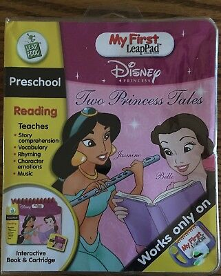 Leap Frog My First LeapPad Two Princess Tales Book Cartridge