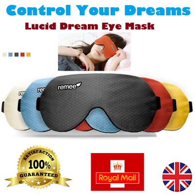 GENUINE Remee Remy Patch Dreams Sleep Eye Masks Inception lucid Dream Control UK