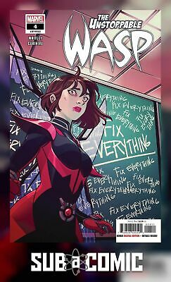 UNSTOPPABLE WASP #4 (MARVEL 2019 1st Print) COMIC