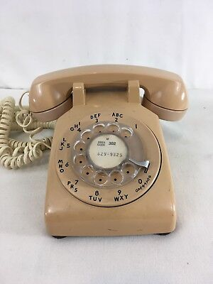 Bell System Western Union Vintage 60s 70s Rotary Desk Phone Telephone
