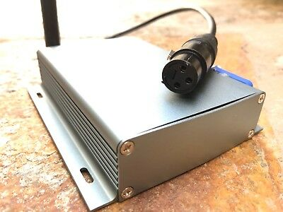 WDMX Receiver Unit // Powercon Link, +5db Antenna, Swedish Wireless Solutions