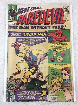 Daredevil #1 (Apr 1964, Marvel) 1st Edition Foggy Nelson, Karen Page Silver Age