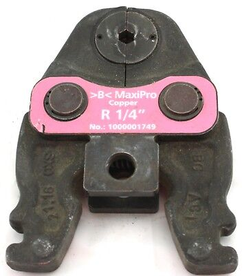 """Rothenberger R 1/4"""" >B< MaxiPro Press Jaw Copper Compact Design Jaw Only"""