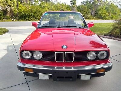 1988 BMW 3-Series  1988 BMW 325i Convertible  Mint
