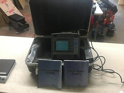 GN Nettest CMA 40 Firehawk Fiber Optic Tester  with Manuals & Hardcase