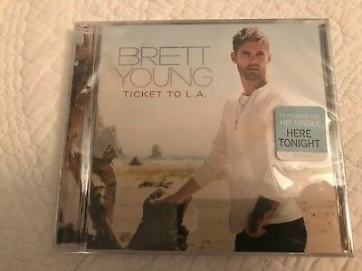 Brett Young - Ticket To L.A. Los Angeles - Brand New CD Sealed