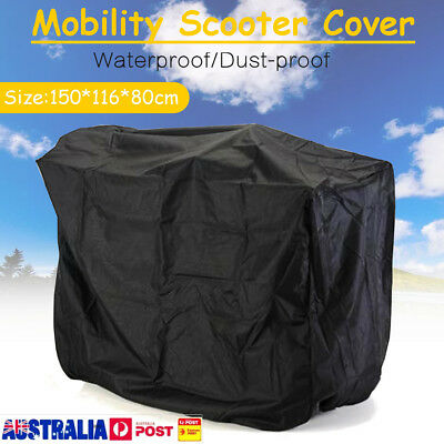 150*116*80cm Electric Mobility Scooter Cover Scooter Cover Scooter Rain Cover AU