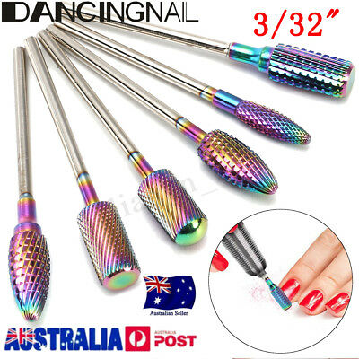 3/32'' Electric Nail Art Drill Bit Tungsten Carbide Alloy Manicure Pedicure Tool