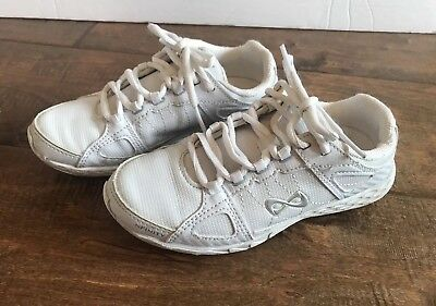 bf36aece7b NFINITY RIVAL CHEER Shoe White Youth Kids Size 1 Hardly Worn ...