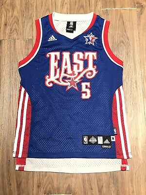 ADIDAS Boston Celtics Garnett  5 Sewn Jersey 2008 NBA East All Star Youth  Medium d76b5d8015d72