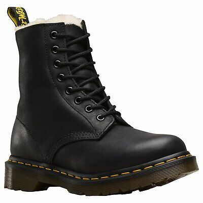 Dr Martens 1460 Serena Womens Boots - Black Burnished Wyoming All Sizes