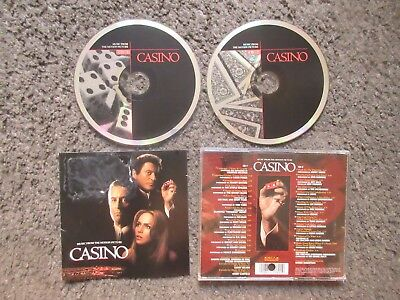 "V/A ""CASINO (MUSIC FROM THE MOTION PICTURE)"" 1995 2CDs. NM/VG- OOP COMPILATION"