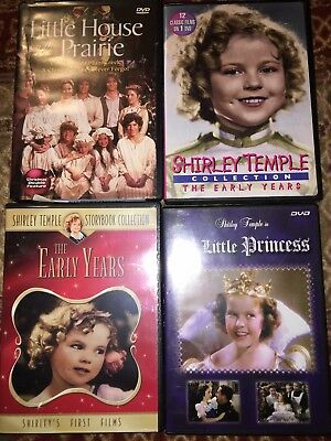 DVD Lot Classics (Little House On The Prairie & 3 Shirley Temple DVDs)
