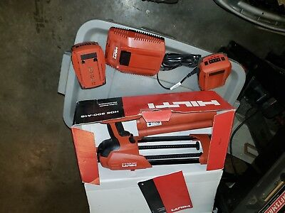 HIlti 3540270 HDE 500-A18 Starter Pack cordless system tool charger 2 batteries