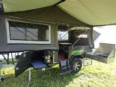 Forward Fold - Off Road - Camper Trailer