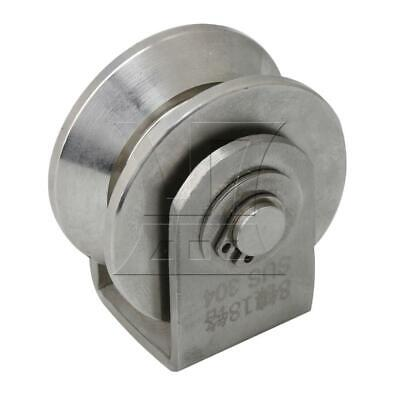 4.8x5.4x3.8cm V Type Rail Roller Fixed Pulley Roller V-Type Small Size
