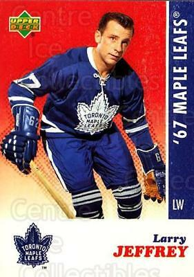 2007 Toronto Maple Leafs 1967 Commemorative #12 Larry Jeffrey