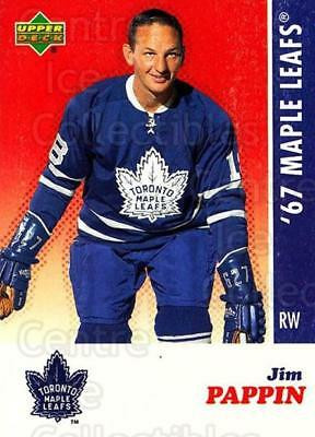 2007 Toronto Maple Leafs 1967 Commemorative #19 Jim Pappin