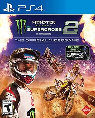 Monster Energy Supercross: The Official Videogame 2 (North America) PS4