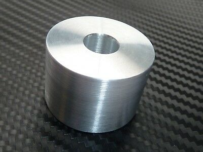 ALUMINIUM SPACER 8mm thick 42mm id 60mm od   CNC TURNING