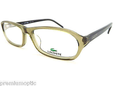 3c9b2cb5e16f LACOSTE reading glasses L2621 318 Green with Black Arms designer optical  frames