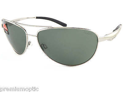 83ce020f16 BOLLE polarized COLUMBUS metal sunglasses SHINY SILVER  Axis Cat.3 Lens  11798