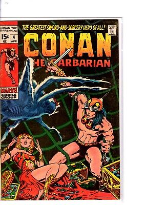 conan the barbarian 4 scarce fine