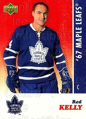 2007 Toronto Maple Leafs 1967 Commemorative #13 Red Kelly