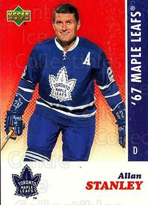2007 Toronto Maple Leafs 1967 Commemorative #25 Allan Stanley