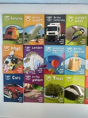 I-Spy Book (Choose one book) What can you spot? (Collins Michelin iSPY Guides)