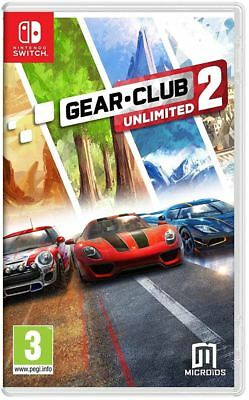 Gear Club Unlimited 2 Nintendo Switch Brand New Sealed Official Game PEGI 3