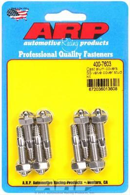 ARP 400-7603 Stainless Steel Valve Cover Stud Kit for Cast Aluminum 6pt Pkg 8