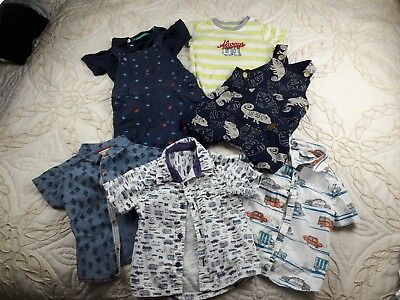 Baby Boy Bundle Age  9 To 12 Months Top And Shirts Manyaray Angel And Rocket