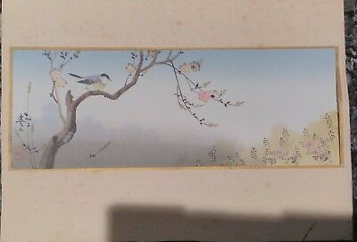 Three Matsumoto Studio Handpainted Japanese Watercolours