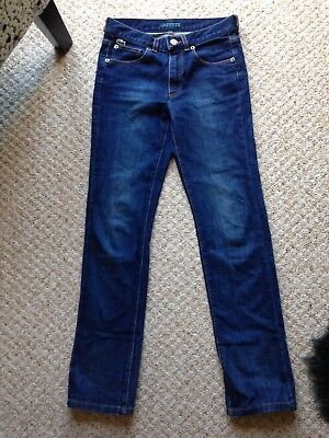 Lacoste Jeans age 12 immaculate unworn skinny fit new without labels