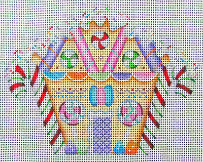 HP Needlepoint 18ct A COLLECTION OF DESIGNS Gingerbread House-HI3