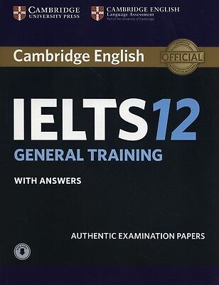 IELTS Practice Tests: Cambridge IELTS 12 General Training Student's Book & Audio