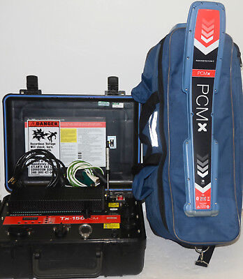 Radiodetection RD-PCMx Underground Utility Cable Pipe Locator Tx-150 PCM RD8100