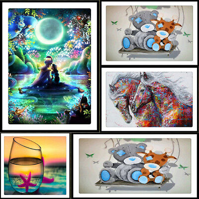 5D DIY Diamond Painting Abstract  Embroidery Cross Stitch Craft Home Decor