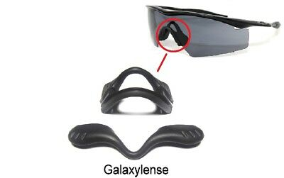 1238afd48a26 Galaxy Nose Pads Rubber Kits For Oakley M Frame 2.0 Strike Industrial Black