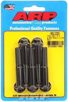 "ARP 652-2250 Chromoly Bolts Hex Black Oxide 3/8""-16 RH Thread, 2.250"" Long 5 Pk"