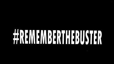Remember the buster Paul Walker fast and furious car window sticker decal #480